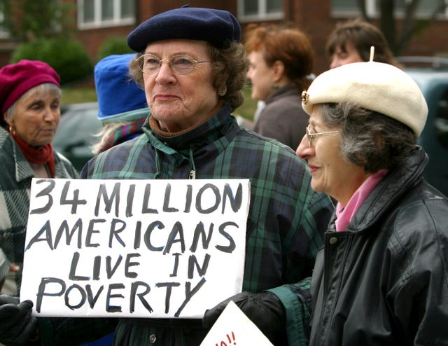 Millions Live in Poverty