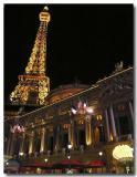 Paris at night, Las Vegas