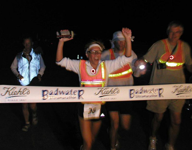 37 hours, 41 minutes later!  3rd place female, 15th overall.