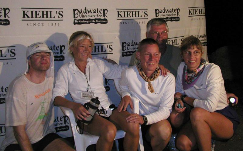 My Badwater family - You are the BEST!  I could never have had such a successful race without each & every one of you!