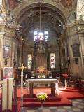 Pietà Sanctuary Interior - Cannobio - Lake Maggiore - Italy