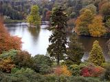 Looking down on the lake, Stourhead