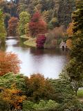 From up the top again, Stourhead