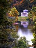 Pantheon through the trees, Stourhead (1895)