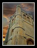 Church tower, Martock