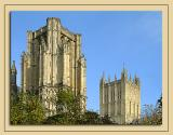 Two towers, Wells Cathedral