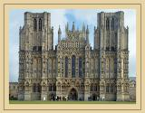 Cathedral front, Wells Cathedral (2984)