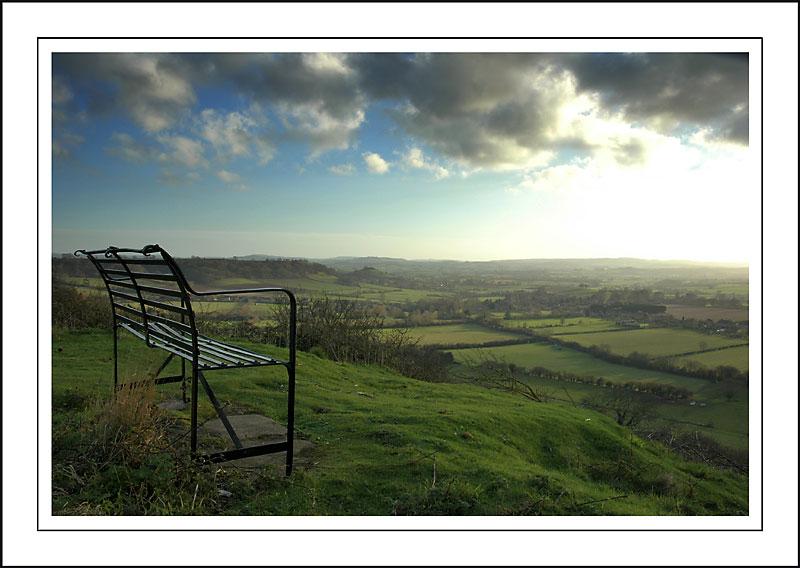 The seat ~ Ham Hill (2345)