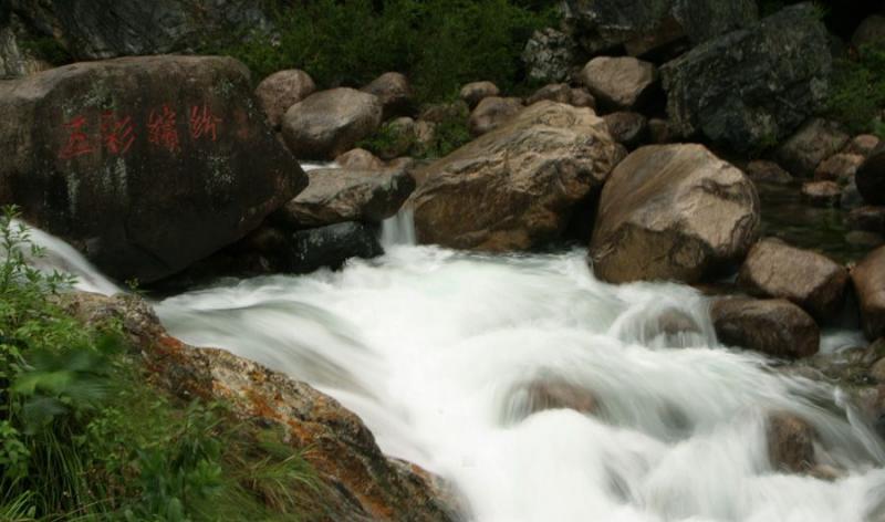 Colorful stream