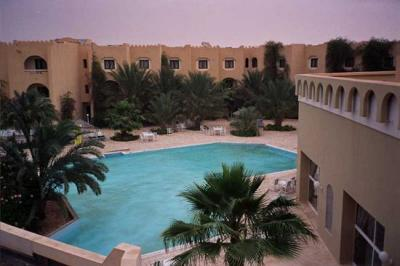 Sahara, view from my room