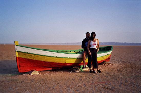 Portrait of George and Debbie, Salt lake