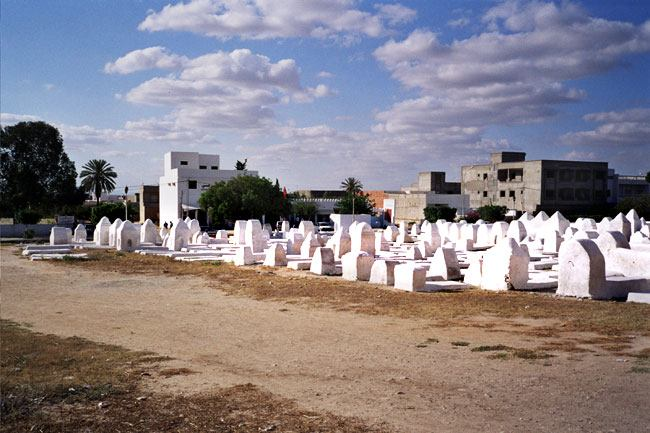 Great mosque of Kairouan (grave yard)