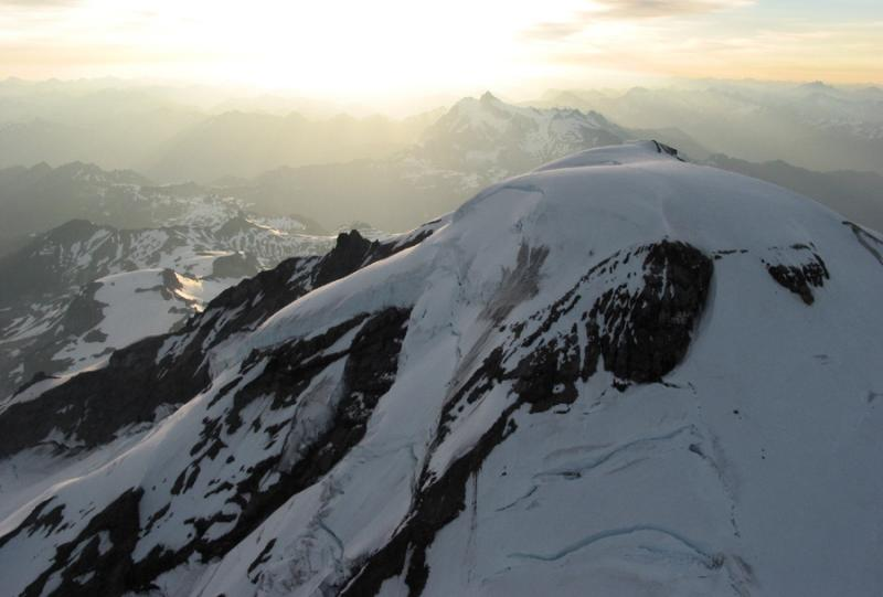Sunrise, View Across North Face (MtBaker071404-42adjDR.jpg)