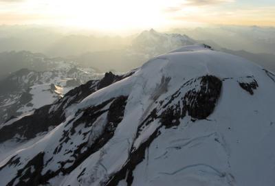 Sunrise, View Across North Face (MtBaker071404-42adjDR.jpg)
