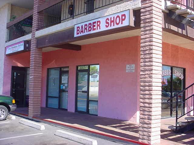 Bills barber shop