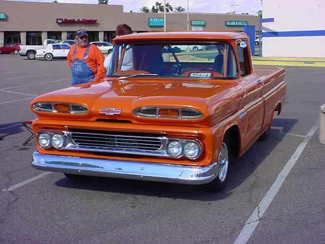 1960 Chevrolet <br>Apache 10 pickup