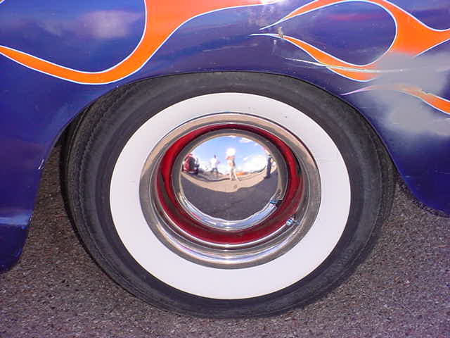 1952 GMC wheel