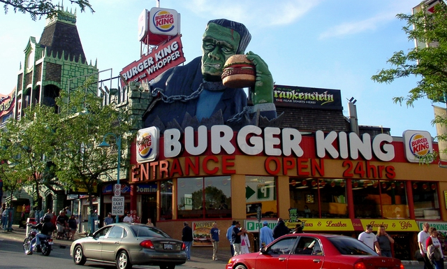 Burger  King  Niagara Falls