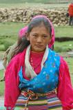 A Tibetan girl