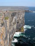 Cliff face - Inishmore Island (Aran Islands) (Co. Galway)