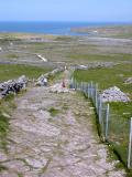 Access to Dún Aonghasa - Inishmore Island (Aran Islands) (Co. Galway)