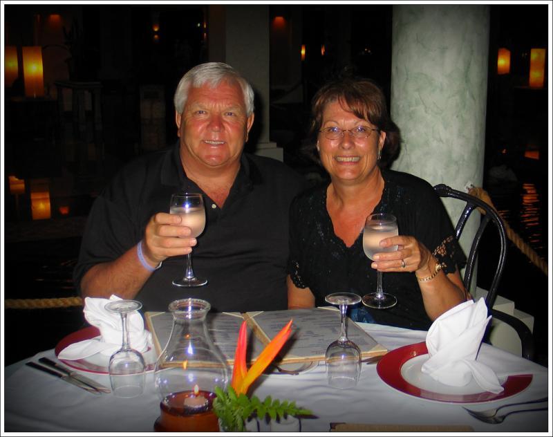 Ron and Fayes Riviera Maya Trip