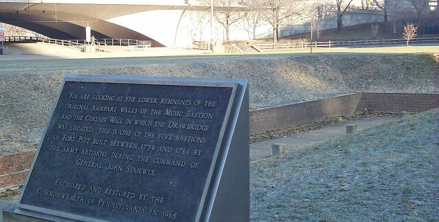 Remnants of Fort Pitt