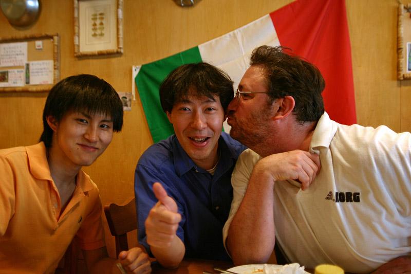 Steve loves Imiazumi-san