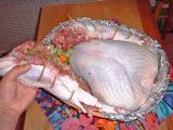 deconstructed roast turkey (info)