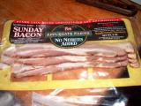 sunday bacon - no nitrites