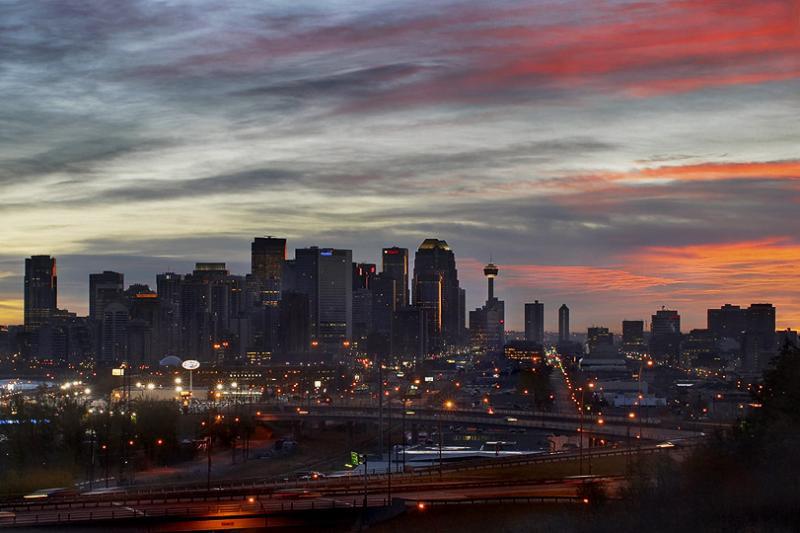Calgary Sunrise #1