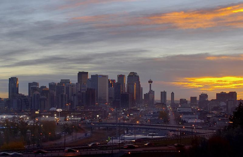 Calgary Sunrise #2