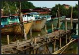 Mersing fishing port