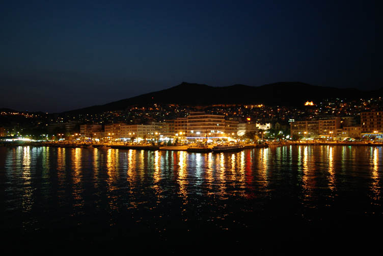 Kavala by night