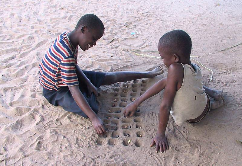 Mozambique -- the original board game, called mbao in some parts of Africa