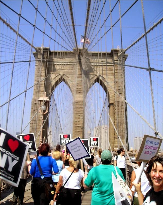 Brooklyn Bridge march