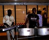 Steel drum band at the Union Square subway station