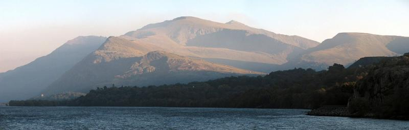 Snowdon from Pen-Llyn on Llyn Padarn