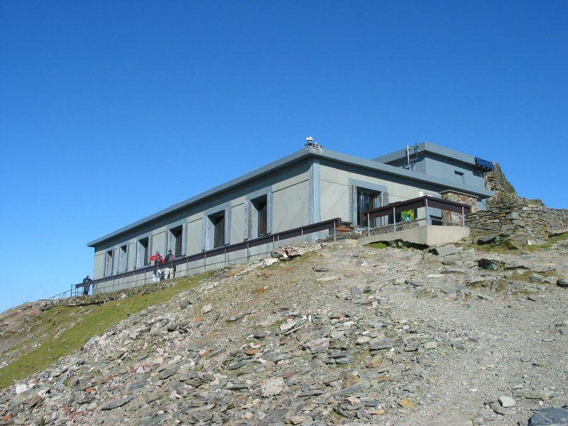 Snowdon Summit cafe