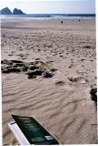 Holywell beach, deserted!