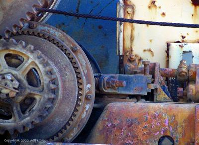 Rusty Truck Gears