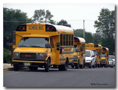 Summer School Buses  /  July 14, 2004