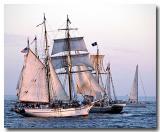 Cannon battle off Dana Point