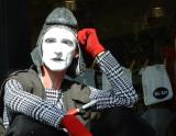 Mime was bored, State College, PA