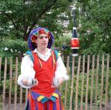 The juggler tossing, State College, PA