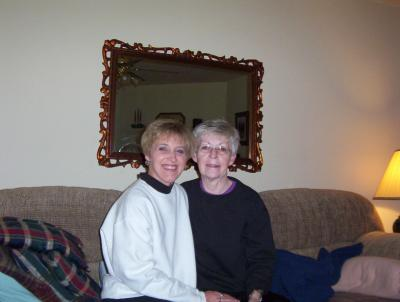 Amie and Susie (Mom)