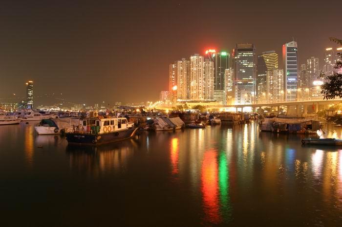 Island Eastern Corridor from Causeway Bay Typhoon Shelter.jpg