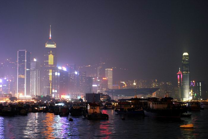 The 5 most famous skylines in Hong Kong, Central Plaza, Bank of China, Cheung Kong, The Center and IFC2