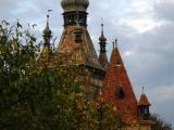 Sighisoara towers, Transylvania.