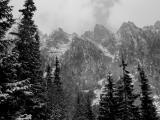 snow in the High Tatra, Slovakia.